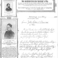 Lettre du professeur L. Weber à Émile Zola du 6 mars 1898