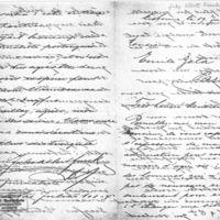 Lettre de Jules Albert Funck à Émile Zola du 19 janvier 1898