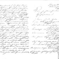 Lettre d'Ella Grieβmann à Émile Zola du 6 mars 1898