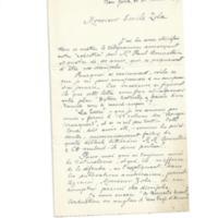 Lettre de Louis Duval à Émile Zola du 21 août 1887
