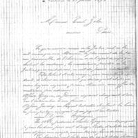 Lettre d'Alfred de Selberier à Émile Zola du 23 février 1898