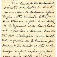 Lettre de Prelina de la *** à Émile Zola du 15 janvier 1898