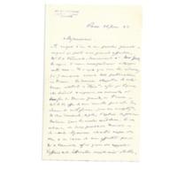 Lettre du Dr Valcourt à Émile Zola du 28 juin 1888