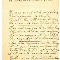 Lettre d'une Genevoise à Émile Zola du 25 janvier 1898
