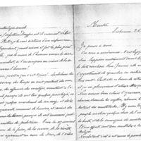 Lettre d'Angelina Vidal à Émile Zola, du 26 février 1898