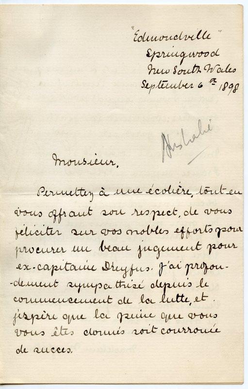 CORREZ - Édition des lettres internationales adressées à Émile Zola
