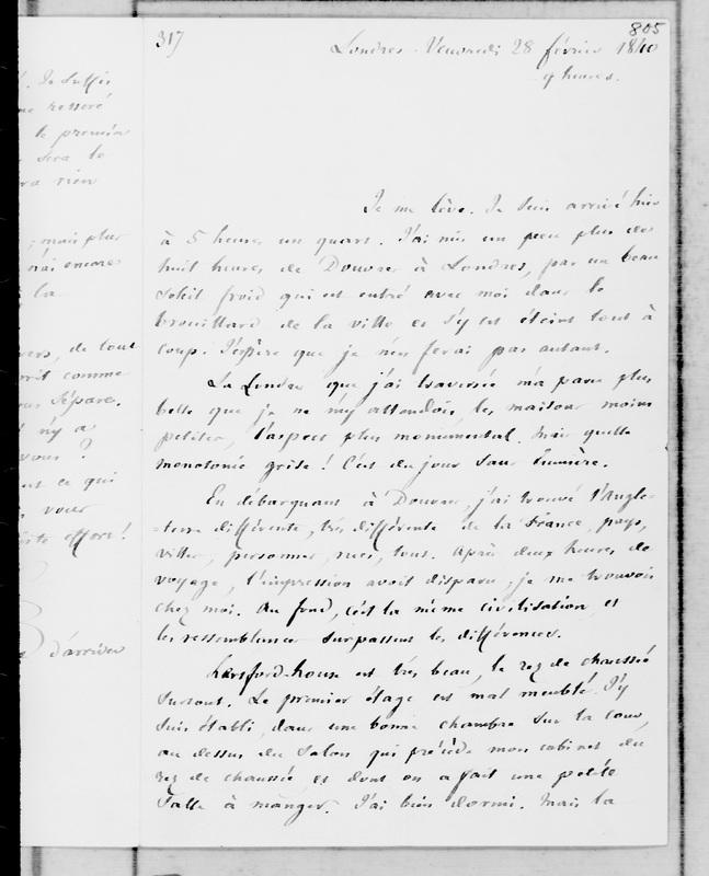 Correspondance croisée entre François Guizot et Dorothée de Benckendorff, princesse de Lieven : 1836-1857