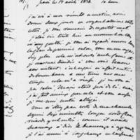 107. Paris, Vendredi 17 août 1838, Dorothée de Lieven à François Guizot