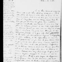 320. Londres, Jeudi 5 mars 1840, François Guizot à Dorothée de Lieven