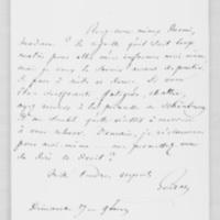 [Paris], Dimanche 18 juin 1837, François Guizot à Dorothée de Lieven
