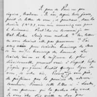 5. Paris, Dimanche 9 juillet 1837, François Guizot à Dorothée de Lieven
