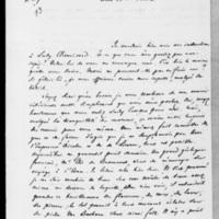 109. Val-Richer, Jeudi 23 août 1838, François Guizot à Dorothée de Lieven