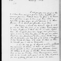 100. Val Richer, Vendredi 27  juillet 1838, François Guizot à Dorothée de Lieven
