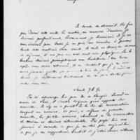 101_2. Broglie, Vendredi 17 août 1838, François Guizot à Dorothée de Lieven
