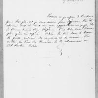 101_1. Lisieux, Vendredi 17 août 1838, François Guizot à Dorothée de Lieven