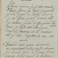 Chanson. Air de la soirée orageuse., folio 71_gauche