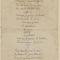 Ronde. [J'ai chanté dans mon délire...], folio 74_droite
