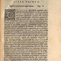 Mythologia, Venise, 1567 - I, 01 : Quod sit totius operis argumentum