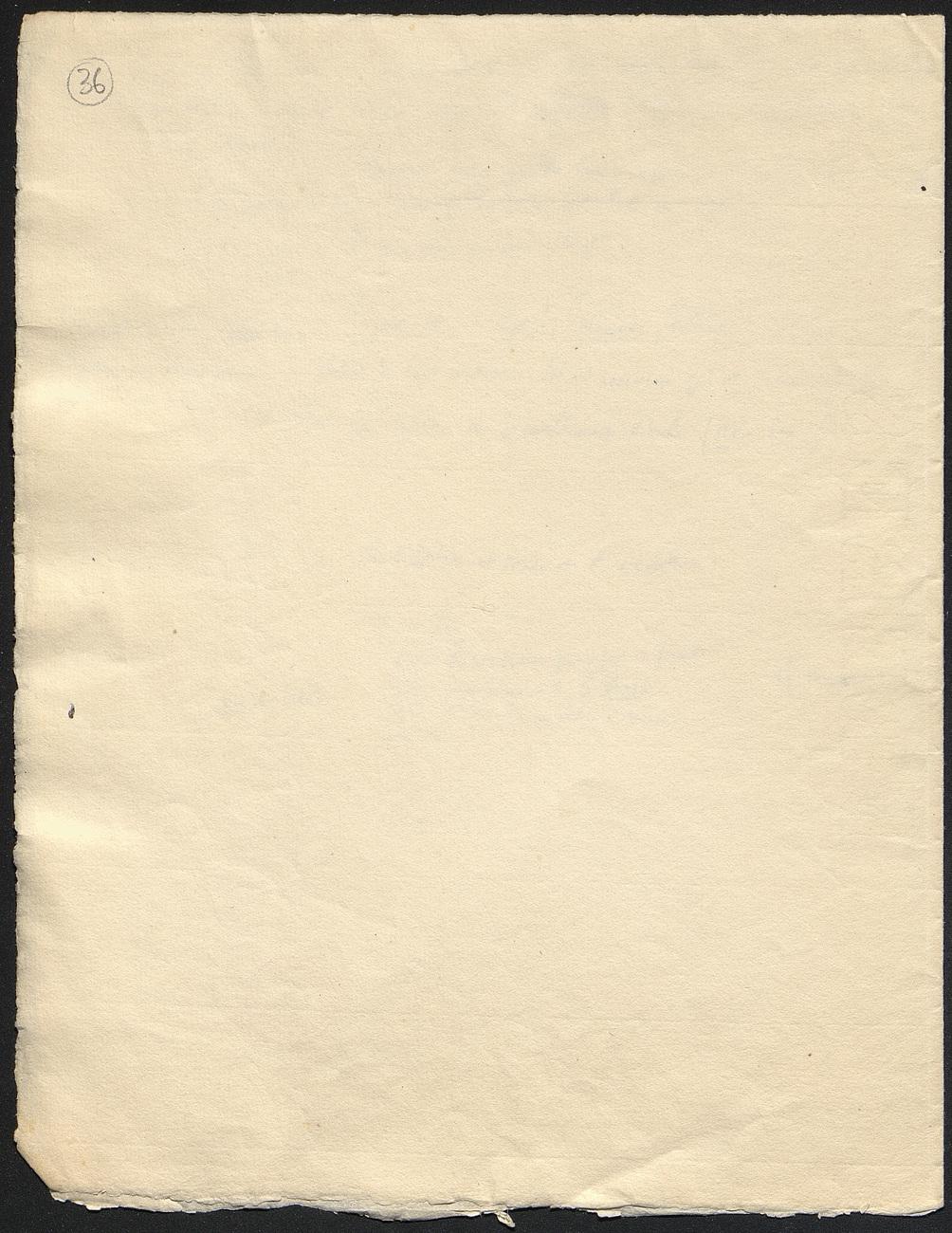 [folio 36 : foliotation de la main de bibliothécaire]