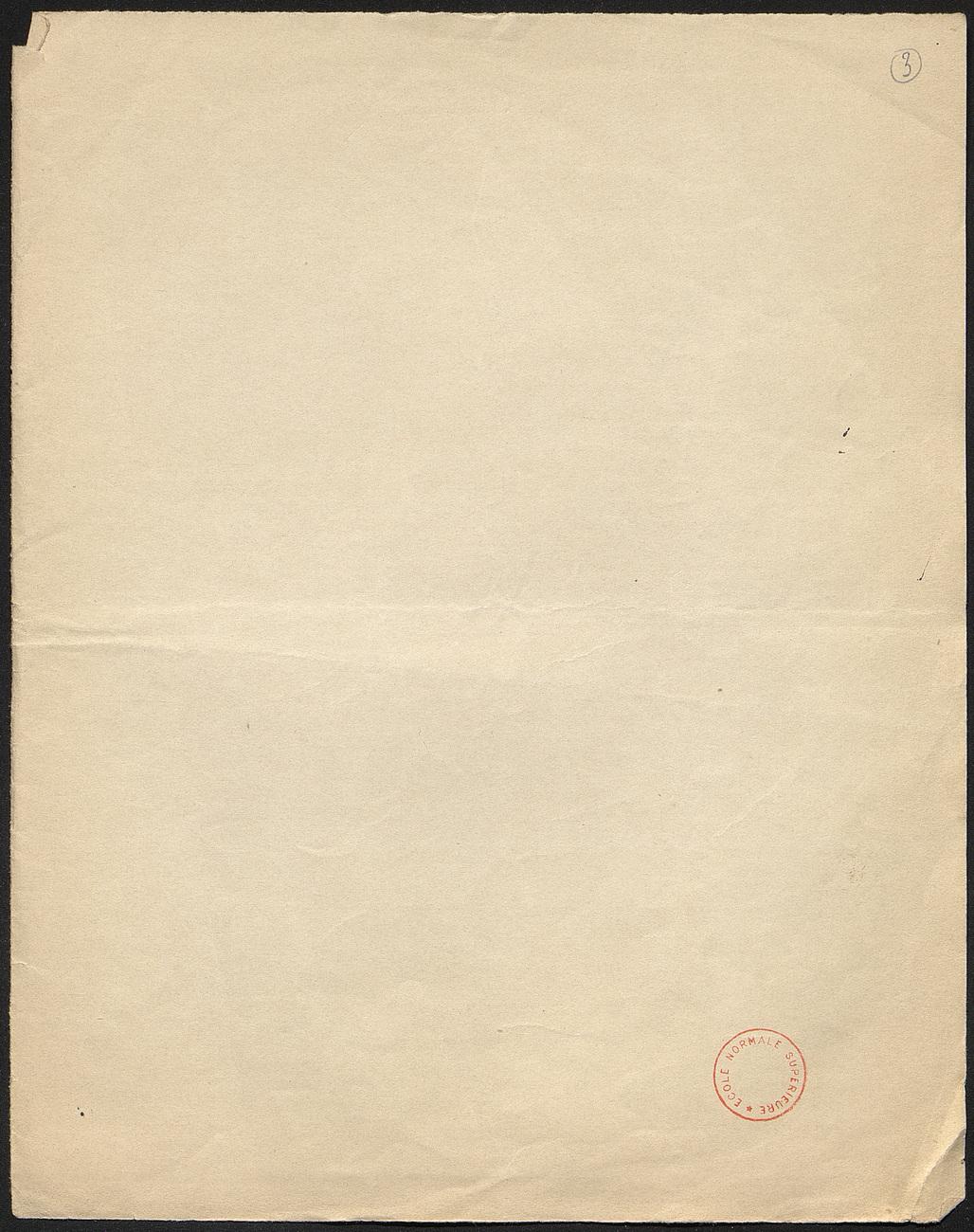[folio 3 : foliotation de la main de bibliothécaire]