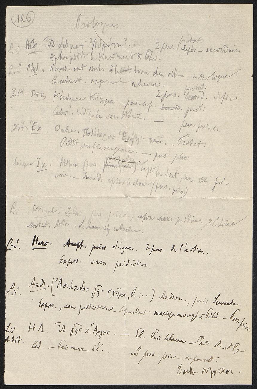 [folio 126 : foliotation de la main de bibliothécaire]