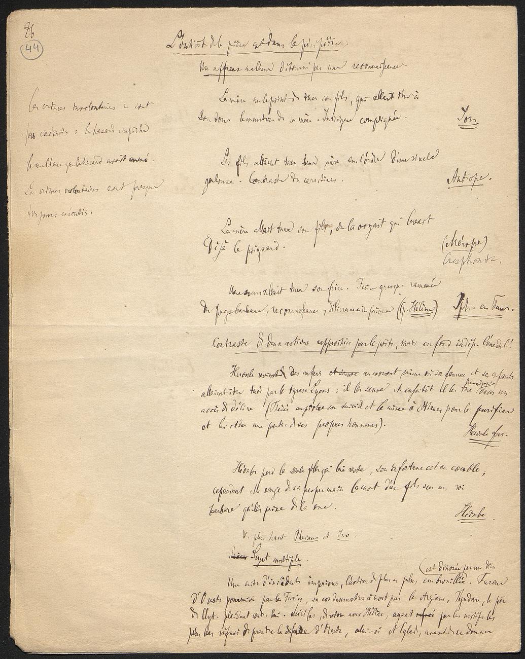 [folio 44 : foliotation de la main de bibliothécaire]