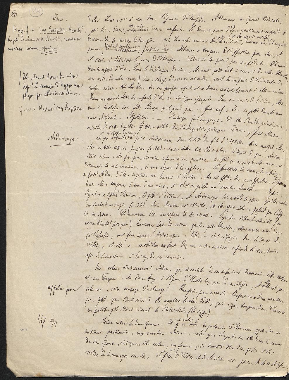 [folio 94 : foliotation de la main de bibliothécaire]