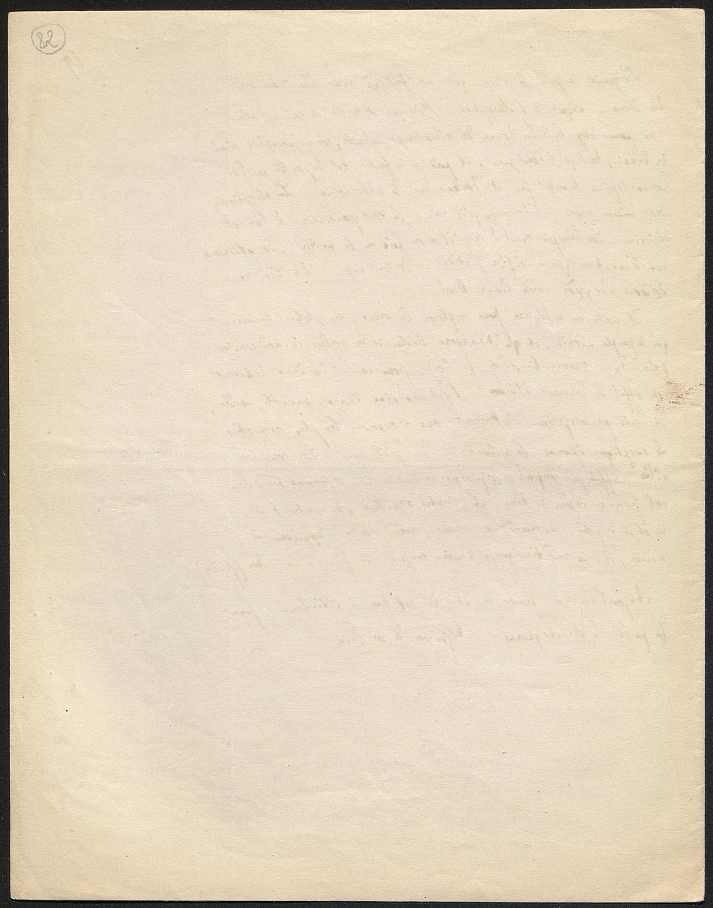 [folio 82 : foliotation de la main de bibliothécaire]
