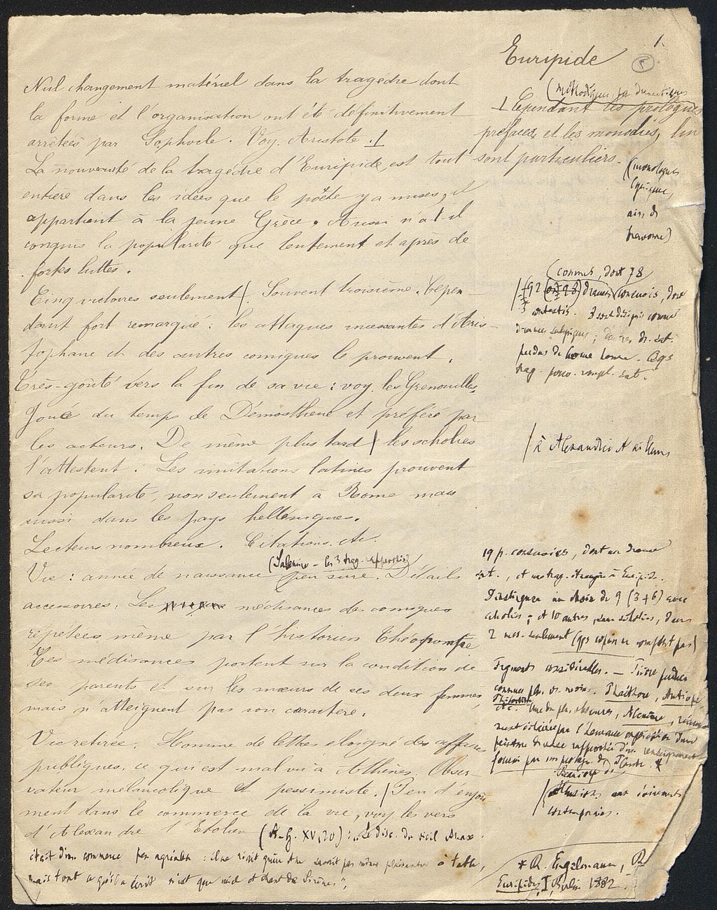 [folio 5 : foliotation de la main de bibliothécaire]
