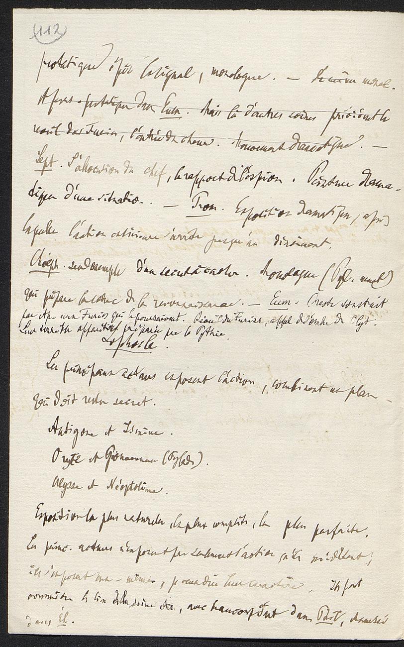 [folio 112 : foliotation de la main de bibliothécaire]