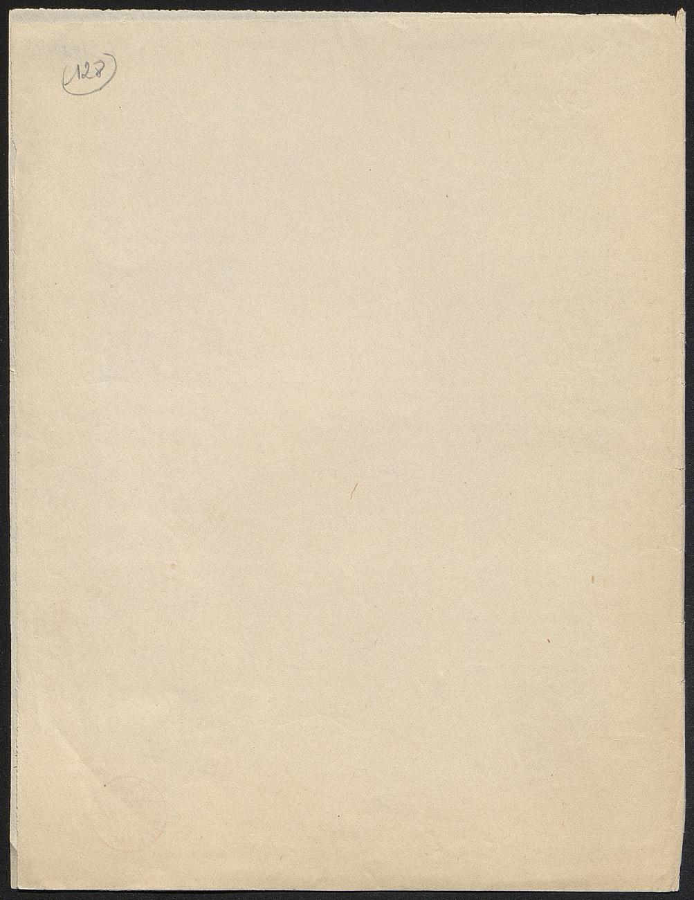 [folio 128 : foliotation de la main de bibliothécaire]