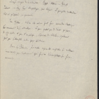 [folio 121 : foliotation de la main de bibliothécaire]