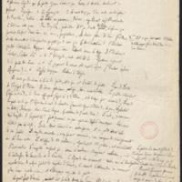 [folio 85 : foliotation de la main de bibliothécaire]