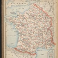 [carte de France imprimée]