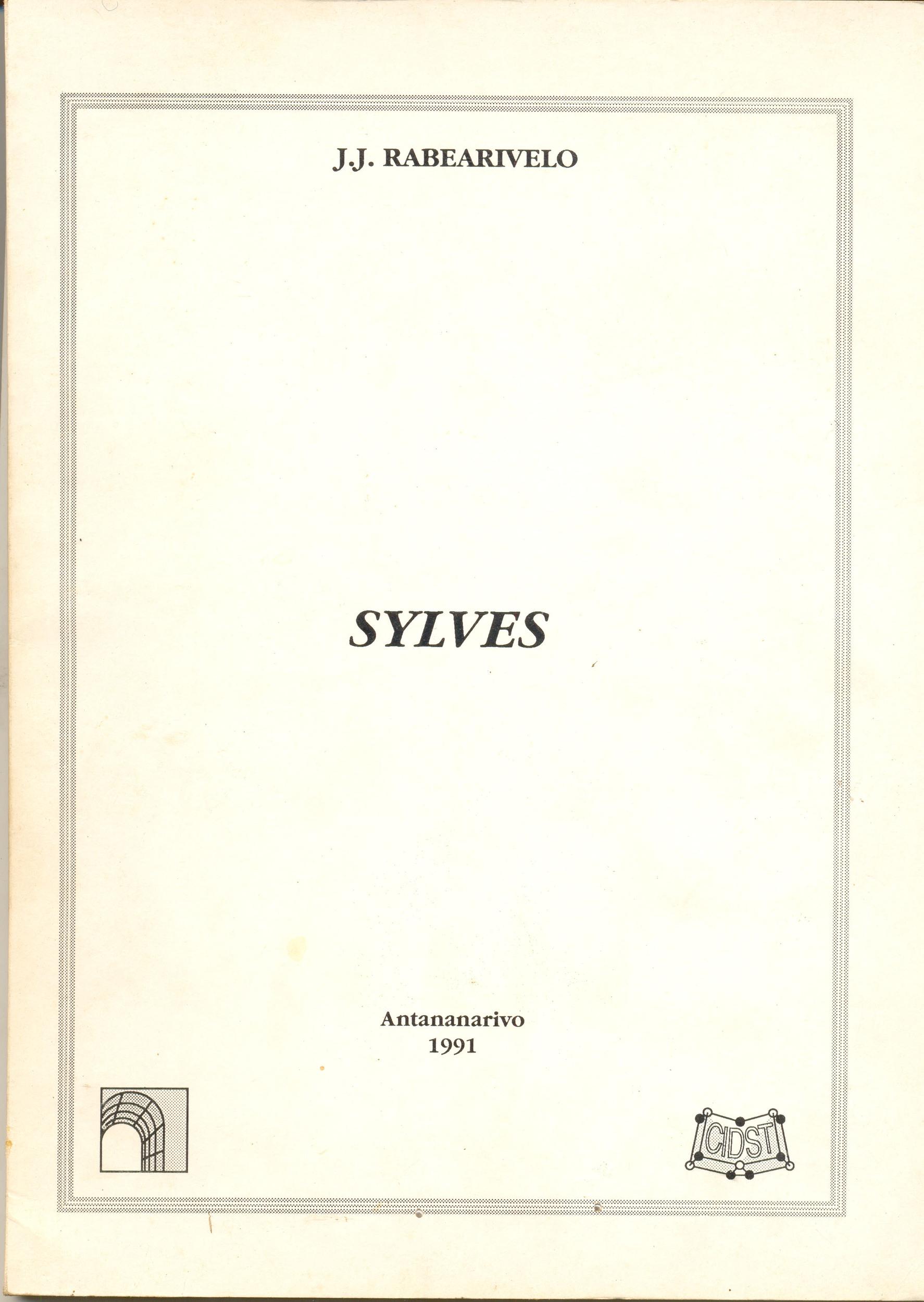 POE EDIT Sylves 1991 couv.jpg
