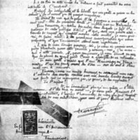 Lettre à Lucien Montagné 14-09-1921