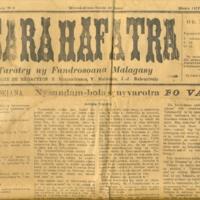 Tononkira - Tsara Hafatra