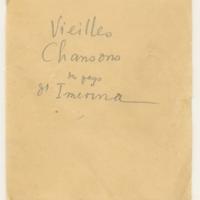 Vieilles chansons des pays d'Imerina [Ms2]