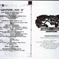 Hommage à Ambohimanga, poèmes malgaches contemporains