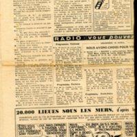 article de presse enquête sur la condition des travailleurs algériens en France du journal le franc tireur en date du 14 Avril  entre 1952 et 1954 (4).jpg