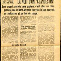 article de presse enquête sur la condition des travailleurs algériens en France du journal le franc tireur en date du 14 Avril  entre 1952 et 1954 (1).jpg