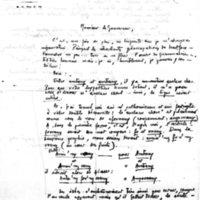 Lettre à Lucien Montagné 18-09-1931