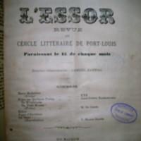 """L'Essor """"Notes sur quelques poètes II"""""""