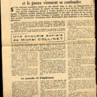 article de presse enquête sur la condition des travailleurs algériens en France du journal le franc tireur en date du 14 Avril  entre 1952 et 1954 (3).jpg