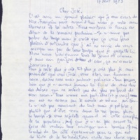 2. Lettre à José Pivin 1973-08-17
