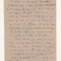 Lettre de R-E Hart 15-05-1934