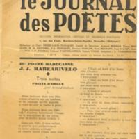 Galets Journal des poètes [Rv]