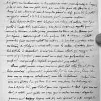 70. Monge à Catherine Huart (1748-1847), sa femme