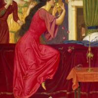 Le cœur mangé_ Sigismonda Drinking the Poison_Joseph Edward Southall.png